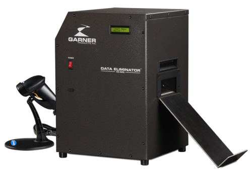 Hard Drive & Tape Degausser |10,000 Gauss 6 Seconds