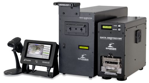 NSA-Listed TS-1XT Degausser Packages (DD-1XT5SSD IRONCLAD shown)